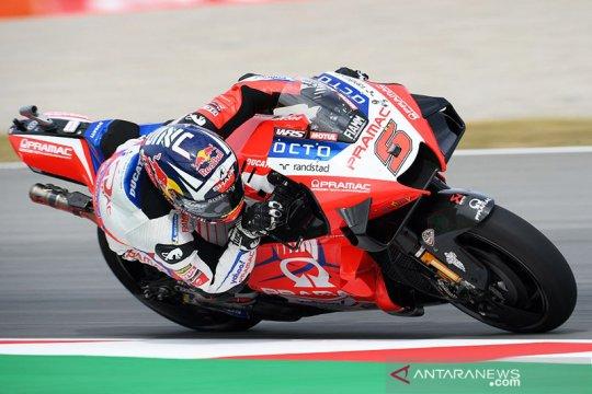 Johann Zarco hentikan rentetan pole Quartararo di GP Jerman