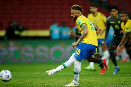 Brazil atasi Ekuador dua gol tanpa balas