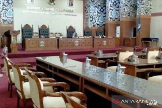 Belum terjadwal di Banmus, Rapat Paripurna DPRD Pangkalpinang ditunda