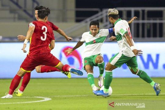 Timnas Indonesia akan tampil habis-habisan kala melawan UEA