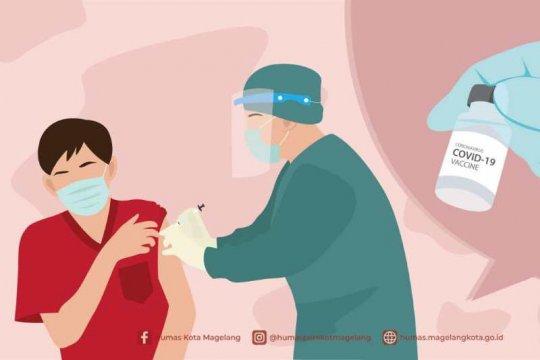 Capaian vaksinasi COVID-19 Kota Magelang terbanyak ke-3 di Jateng