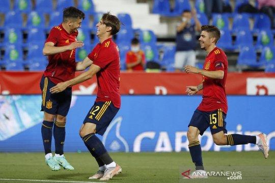 Skuat Spanyol akan divaksin jelang EURO 2020