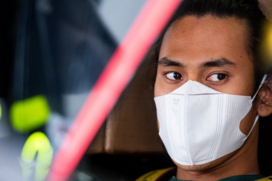 Pebalap Sean Gelael bersiap hadapi balapan ketahanan 24 jam di Le Mans