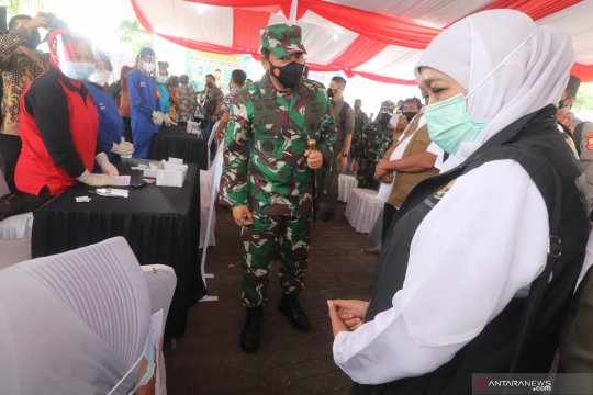 Panglima TNI-Kapolri gelar rapat internal penanganan COVID-19