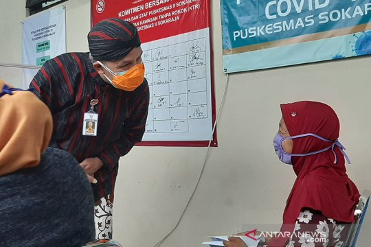 Ganjar minta kabupaten/kota di Jateng tingkatkan pelaksanaan  vaksinasi