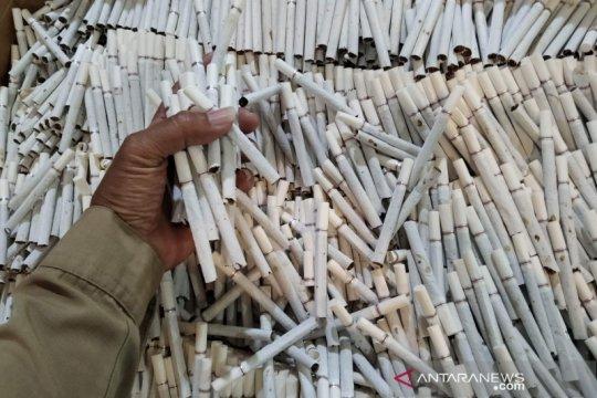 43 kasus pelanggaran pita cukai rokok di Kudus diungkap