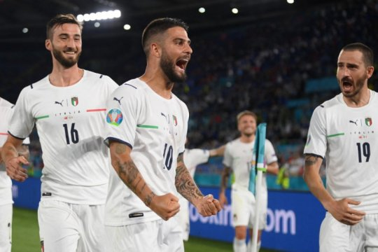 Italia buktikan diri akan terus bersinar selama Euro 2020