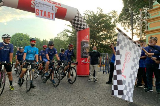100 pesepeda ramaikan Pedalpedia 2021 di  Kebumen