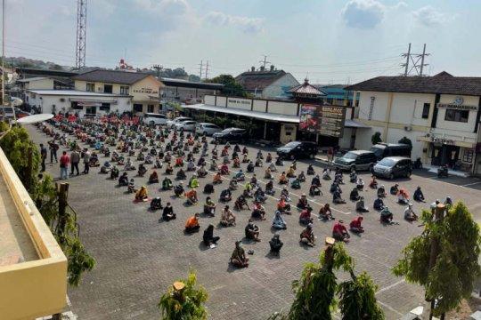 Ratusan orang terkait premanisme di Semarang diamankan