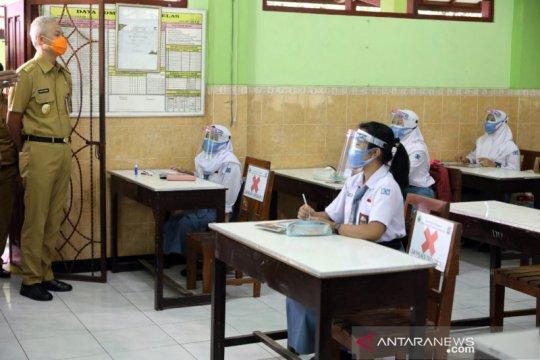 Jateng siapkan aturan pembelajaran tatap muka di luar zona merah