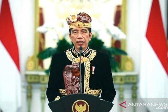 Presiden Jokowi buka Pesta Kesenian Bali ke-43 secara virtual