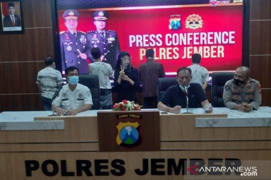Polda Jatim melimpahkan kasus empat kades terlibat narkoba ke Jember