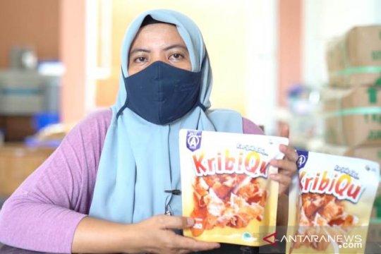 PT Timah fasilitasi UMKM Bangka ekspor produk udang olahan
