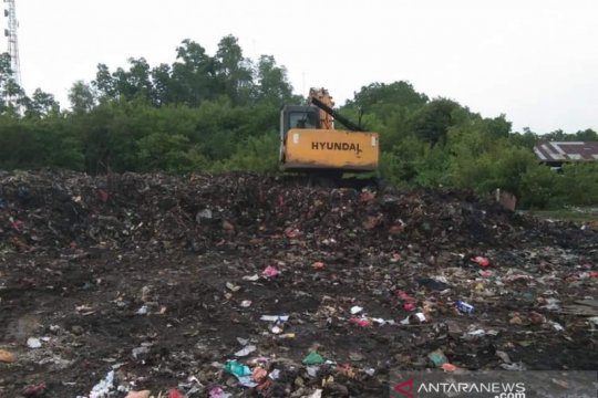 Kabel aki ekskavator sampah dicuri, kerja DLH Meranti jadi terhambat