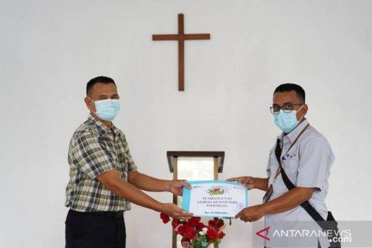Giliran Gereja Kemah Injil Indonesia dapat Bantuan PT Timah