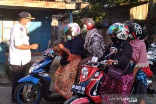 Pemkab uji coba retribusi parkir Pasar Mentok satu pintu