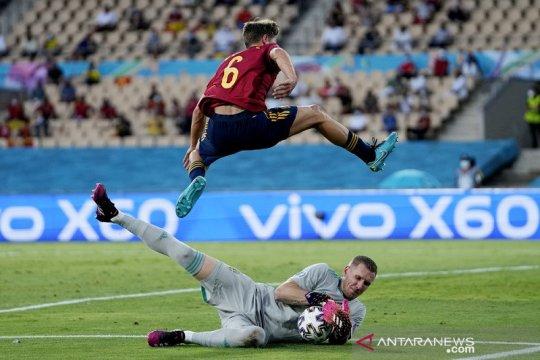 Spanyol bermain imbang 0-0 lawan Swedia