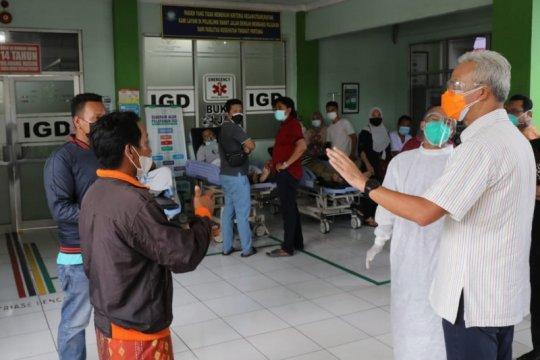 Ganjar sidak, empat pasien di RSUD Jepara tak terlayani