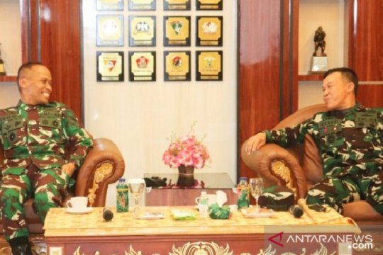 Pangdam XIV/Hasanuddin kunjungi Kodam XVII/Cenderawasih