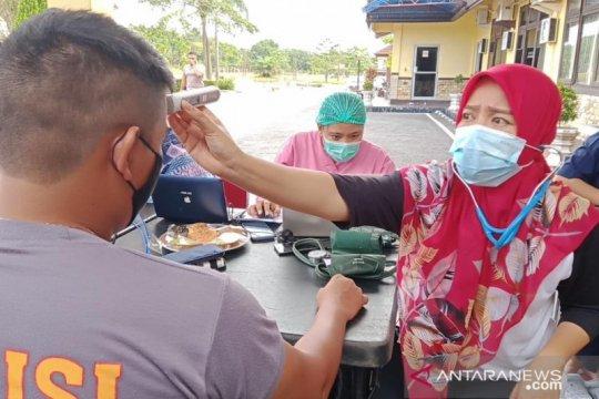 140 personel Polres Bangka Tengah ikut vaksinasi COVID-19