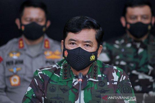 Tekan COVID-19, Panglima TNI minta Forkopimda perkuat 3T