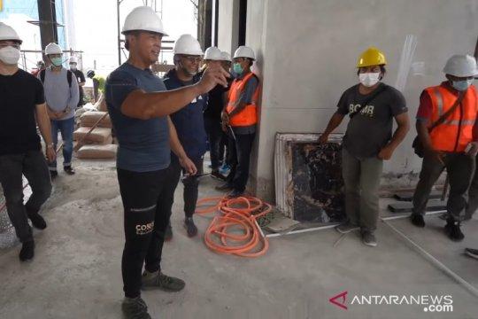 Kasad tinjau pembangunan Gedung Cyber TNI AD