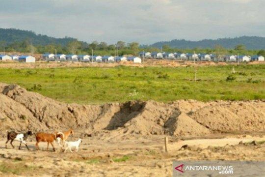 300 huntap di Sigi  siap dihuni untuk korban likuefaksi Petobo
