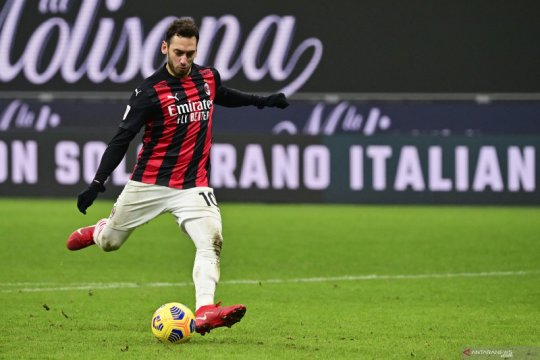 Pelatih Inter Inzaghi puas dengan penampilan Cahlanoglu