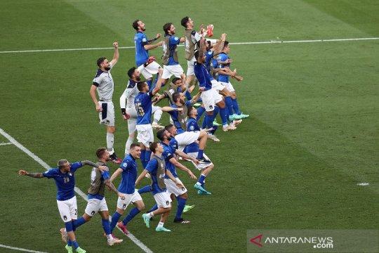 Italia dan Wales lolos ke 16 besar Euro 2020
