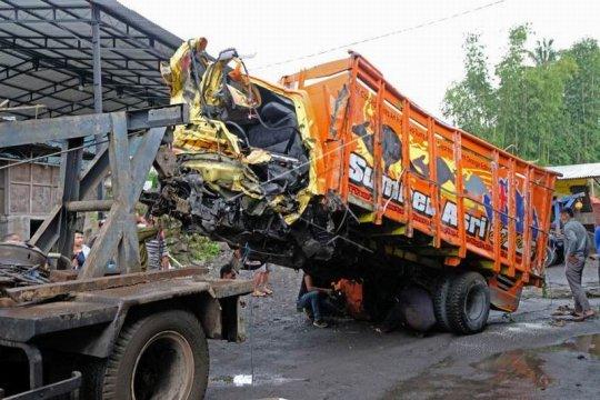 Kecelakaan lalu lintas di jalur Wonosobo-Temanggung