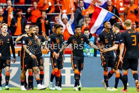 Belanda taklukkan Makedonia Utara 3-0