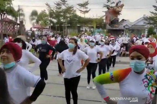 Rampak Sarinah Tulungagung tingkatkan kebugaran dengan traditional dance