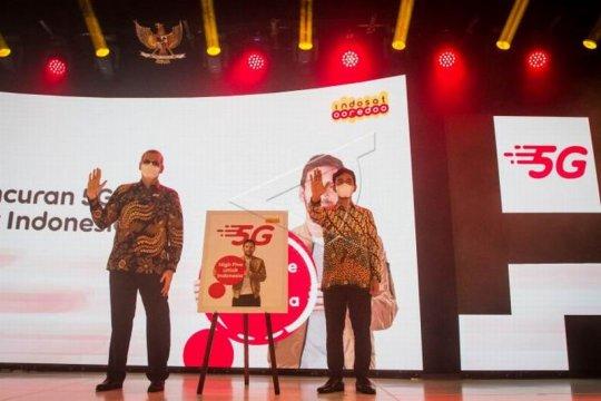 Peluncuran layanan 5G Indosat Ooredoo