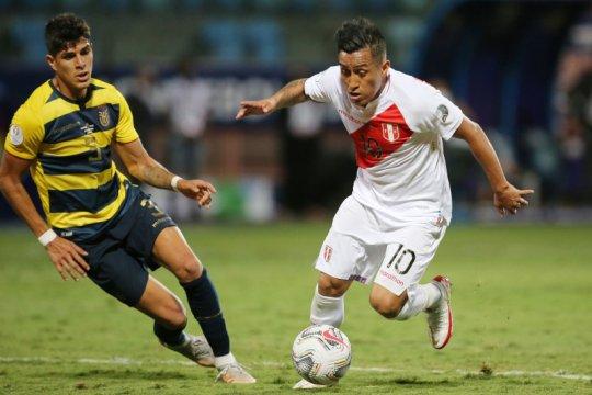 Peru ditahan imbang Ekuador 2-2