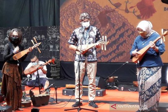 Sandiaga Uno: Masyarakat Jawa kuno telah mengenal seni pertunjukan