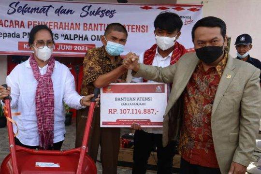 Balai Besar Kartini salurkan bantuan modal usaha penyandang disabilitas di Sumut