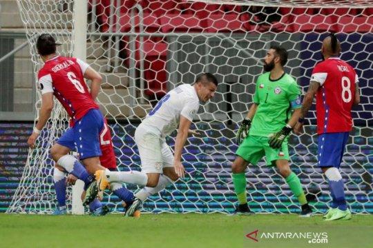 Paraguay menang dua gol atas Chile