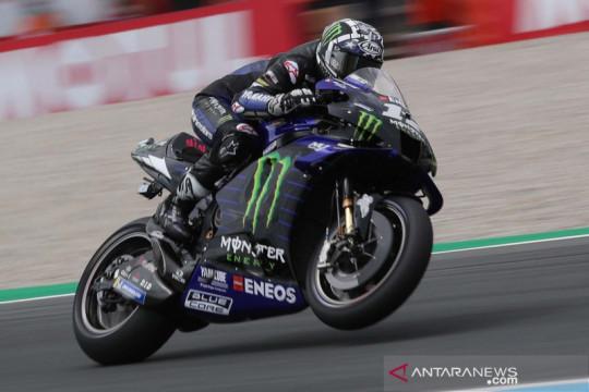 Maverick Vinales rebut Pole Position MotoGP Belanda