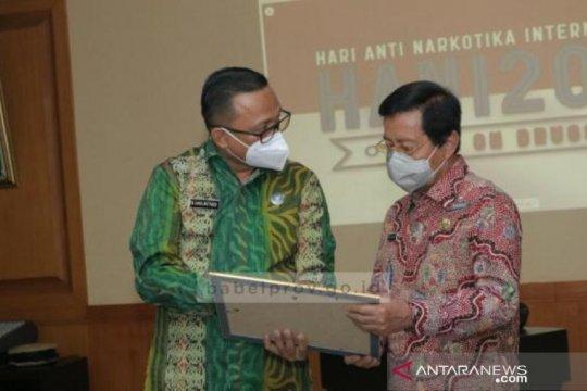 BNN berikan penghargaan ke Gubernur Kepulauan Babel aktif berantas narkoba