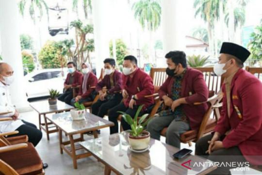Wali Kota Pangkalpinang terima kunjungan DPD Ikatan Mahasiswa Muhammadiyah