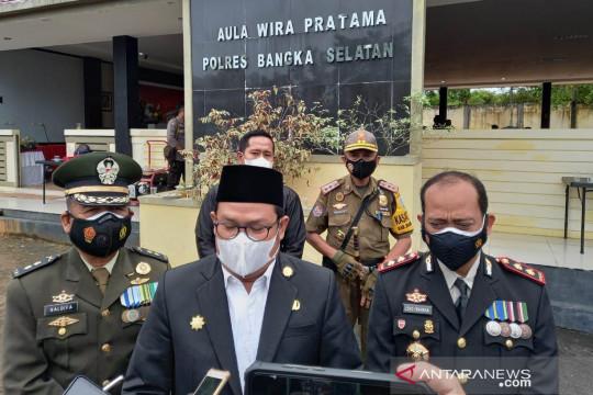 Polres Bangka Selatan gelar syukuran Hari Bhayangkara Ke-75
