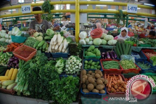 BPS: Kangkung picu inflasi Kota Pangkalpinang 0,23 persen