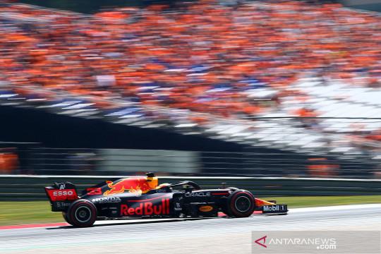 Sesi latihan F1 GP Austria