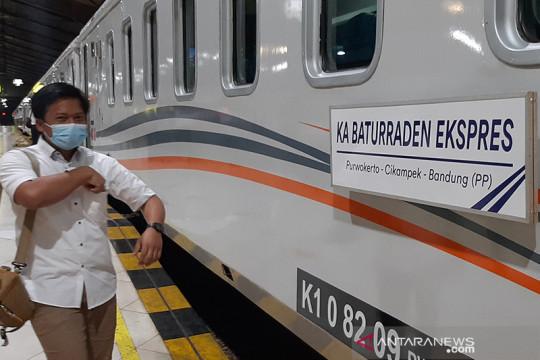 KAI Purwokerto batalkan delapan perjalanan selama PPKM Darurat