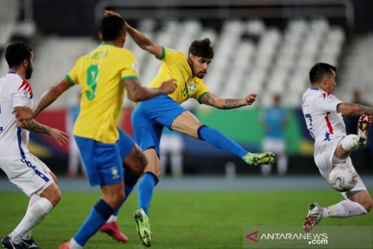 Gol Lucas Paqueta antarkan Brazil ke semifinal Copa America