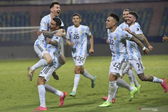 Taklukkan Ekuador 3-0, Argentina lolos ke semifinal Copa America