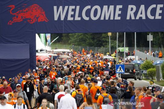 Penoton padati balapan F1 Austria di Red Bull Ring