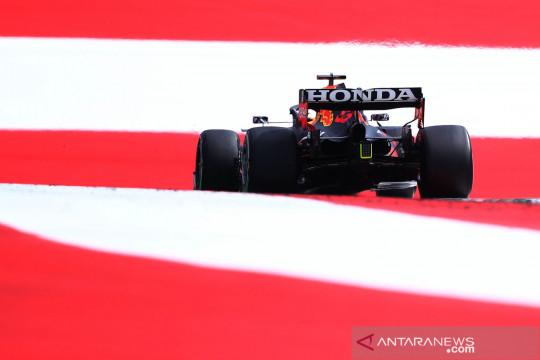 Aksi pembalap F1 di Red Bull Ring Austria