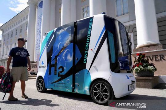 Mobil otonom bertenaga hidrogen pertama di dunia