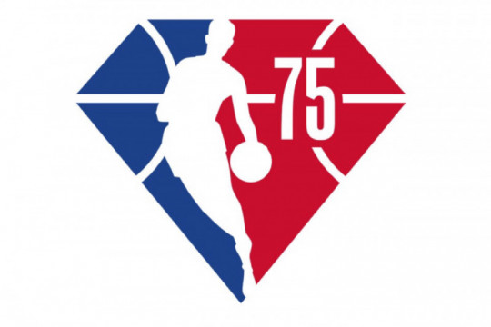 National Basketball Association luncurkan logo peringatan musim ke-75